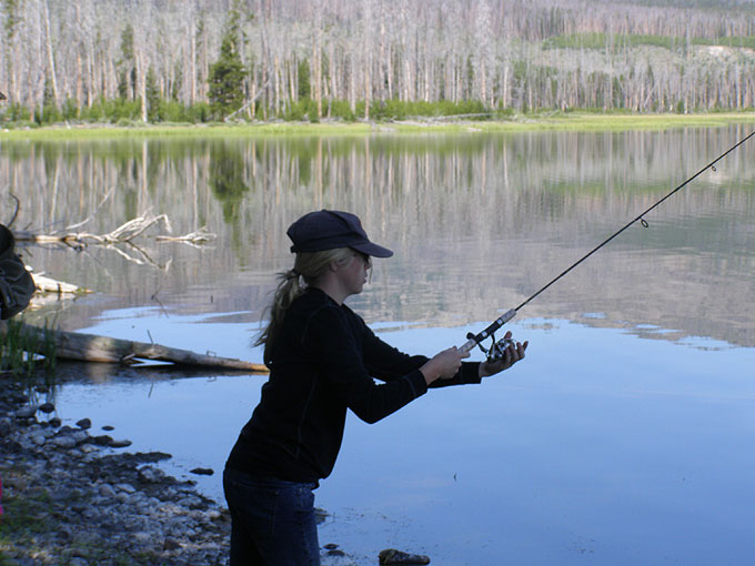 Yellowstone thorofare fishing report for Yellowstone park fishing report